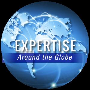 Expertise around the globe