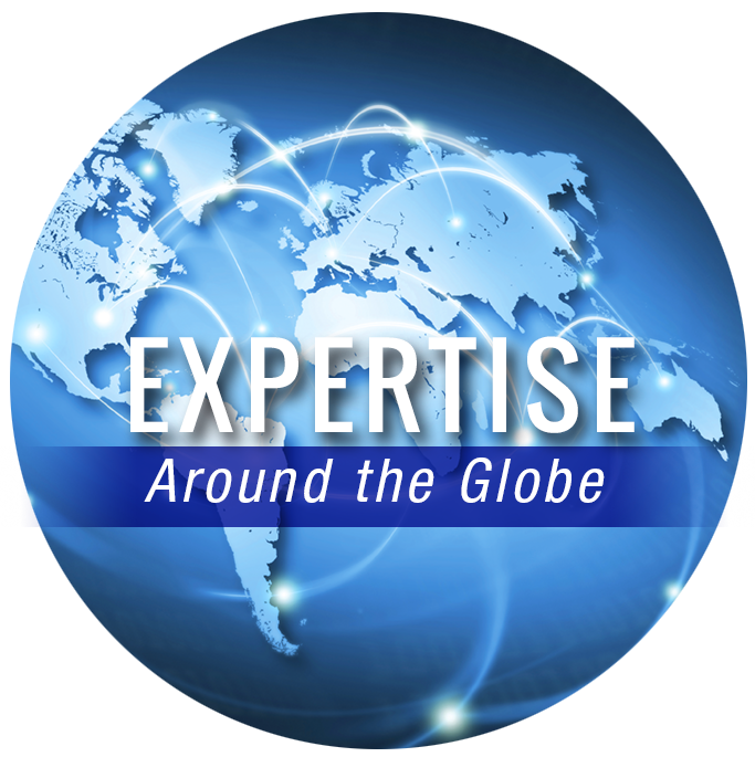 Expertise around the globe