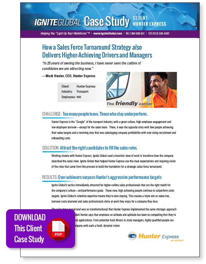 Download the Hunter Express Case Study