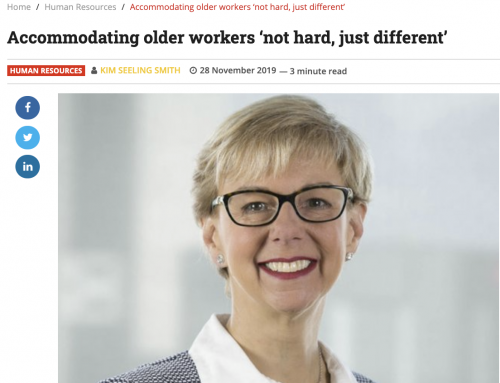 Is your business accommodating older workers?
