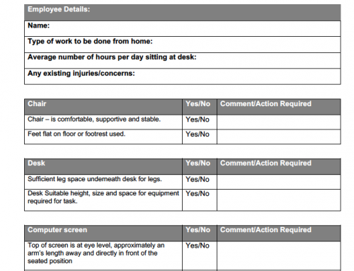 Working from Home Checklist!