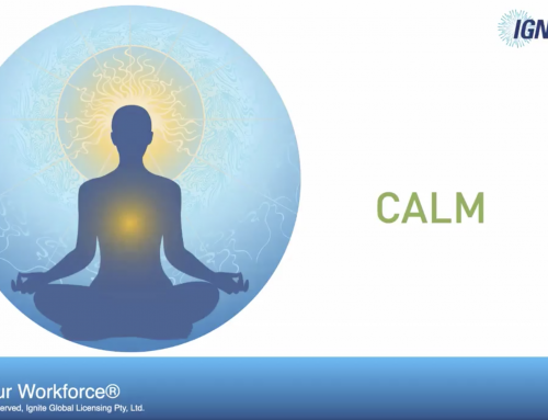 Calm – the first C of the 7 Cs