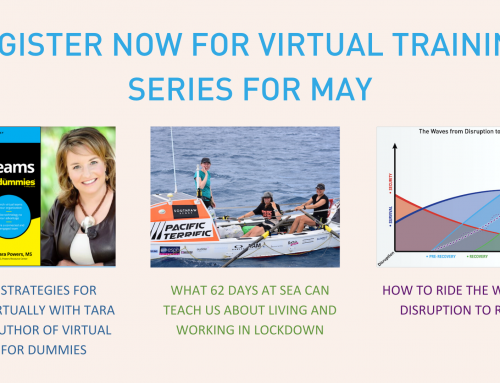 Virtual Trainings for May!